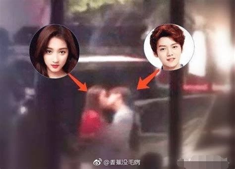 GUAN XIAOTONG PASSIONATELY KISSES LUHAN, TELLS FANS TO